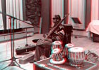 Baluji Shrivastav. 3d photo by Lary 7. Find your 3d-glasse and click to enlarge!